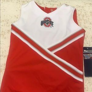 NWT OHIO STATE CHEERLEADER OUTFIT